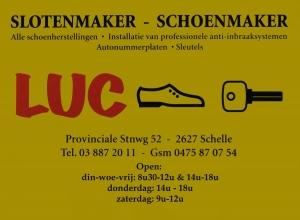 Schoenmaker LUC